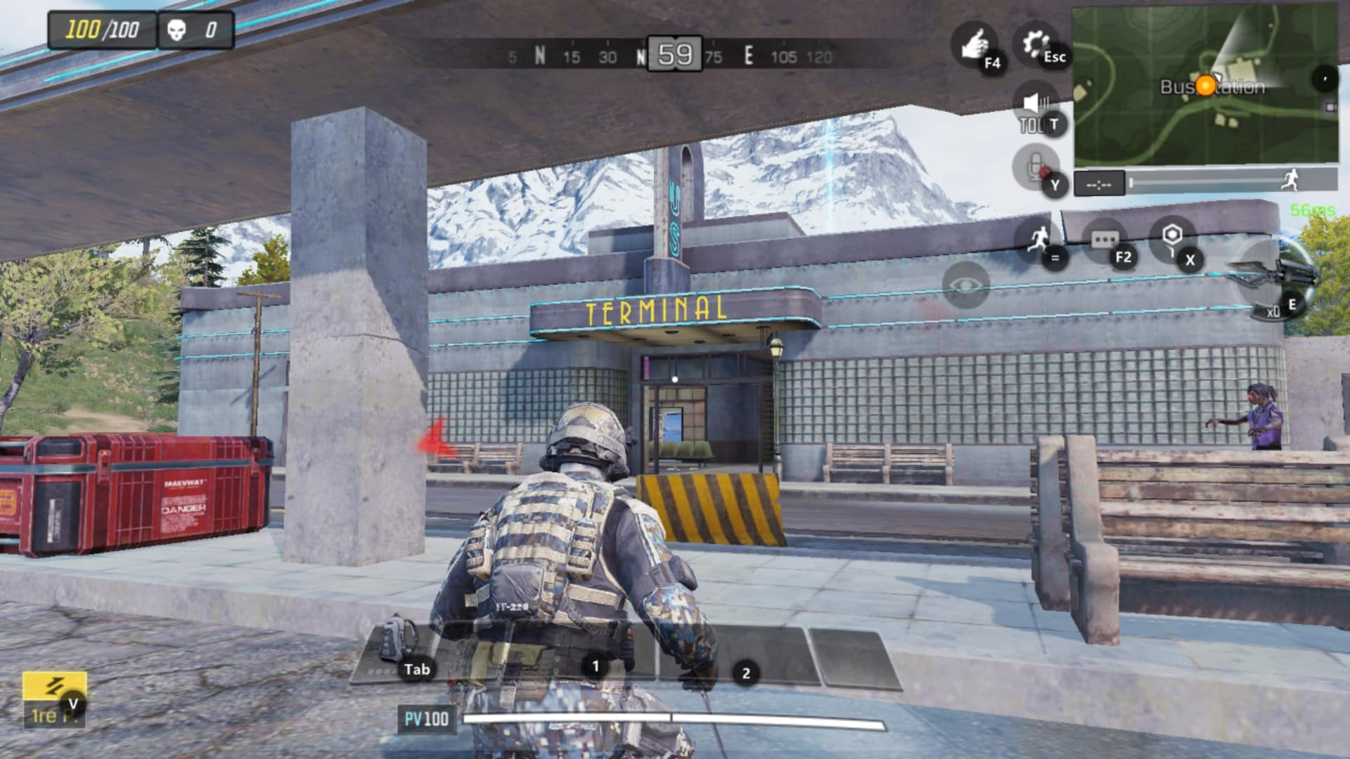 bus-station-ville-call-of-duty-mobile-carte-saison-1-isolated