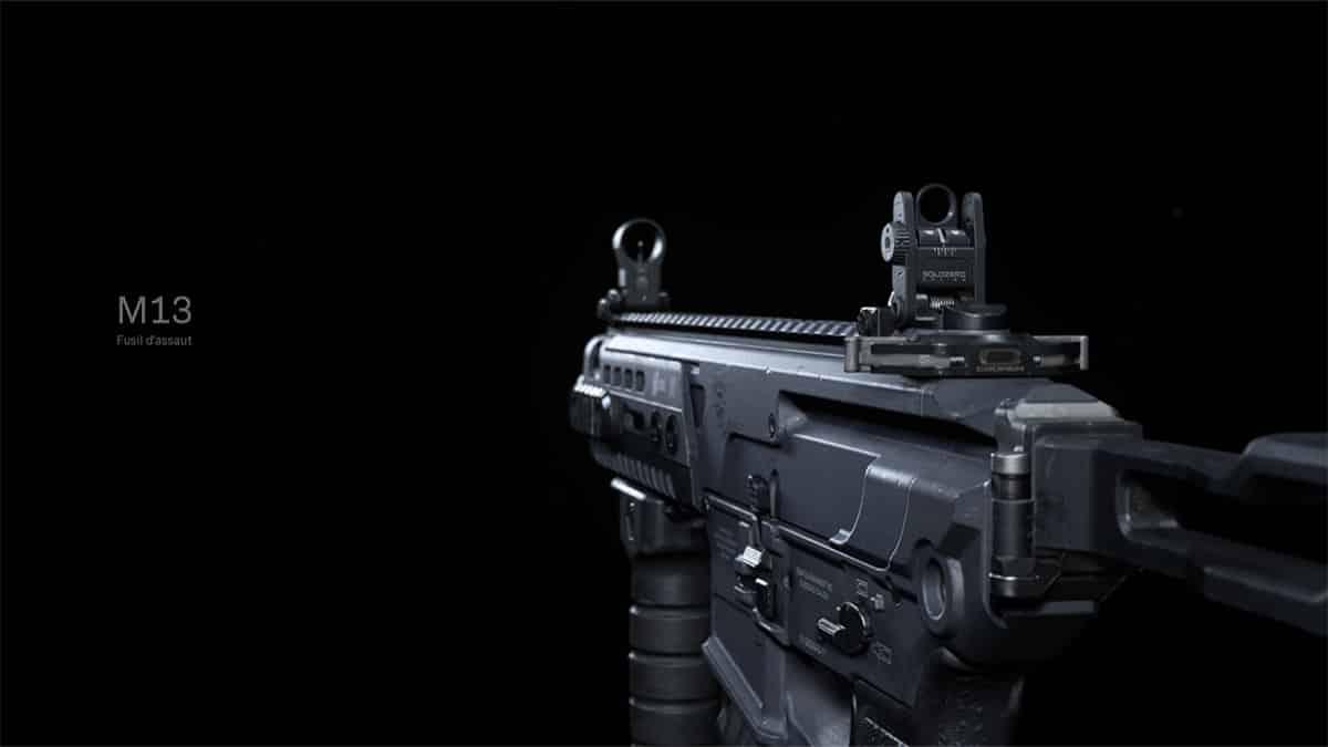 cod-call-of-duty-modern-warfare-M13-meilleurs-loadout-attachments-mod