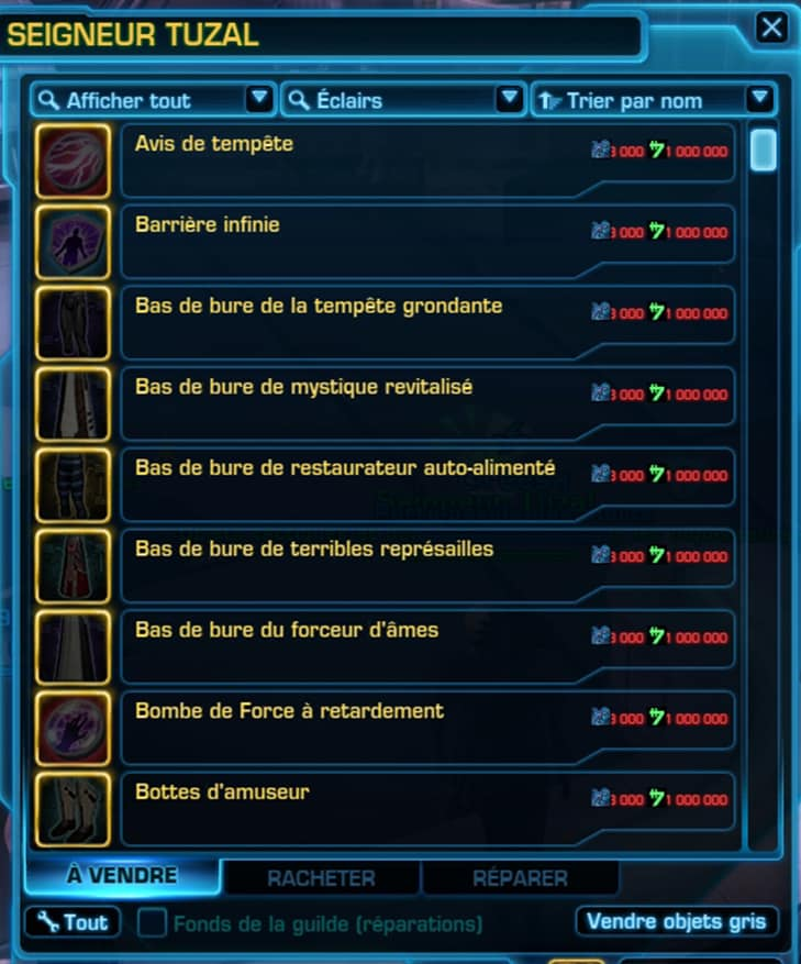 star-wars-the-old-republic-progression-horizontale-vendeur-swtor-guide-aide-astuce