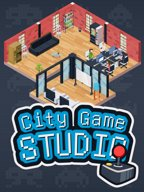 Logo City Game Studio: a tycoon about game dev