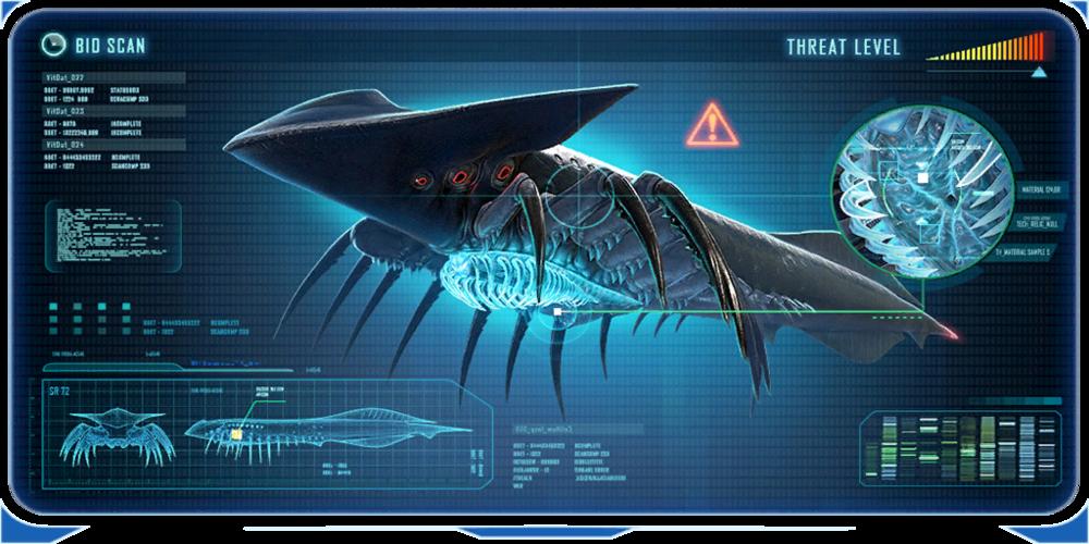 void leviathan subnautica below zero