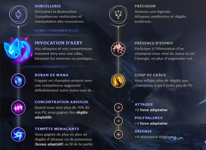 Guide LoL Jayce Mid S10 Runes