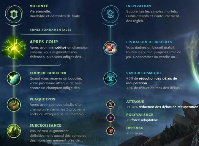 Guide LoL Nautilus Support S10 Runes