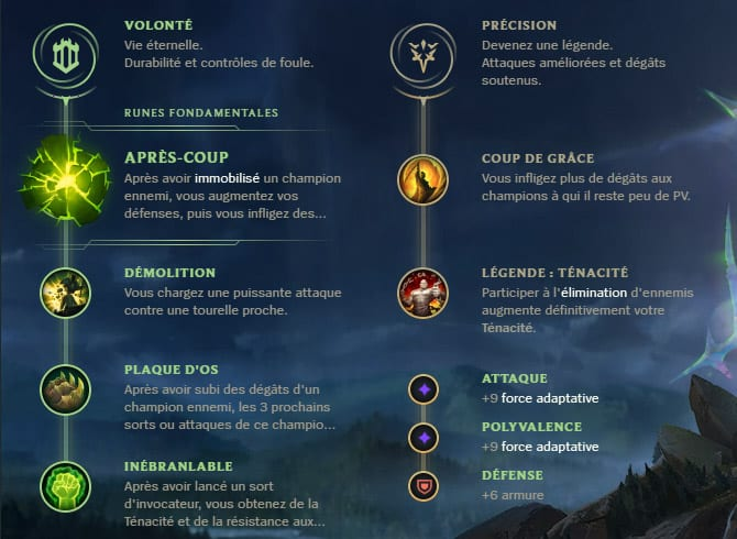 Guide LoL Pyke Support S10 Runes