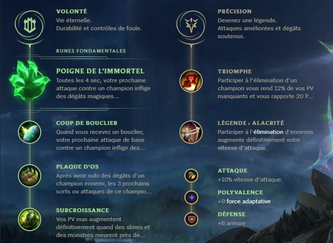 Guide LoL Shen Top S10 Runes