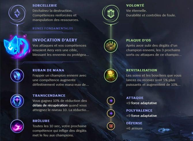 Guide LoL Soraka Support S10 Runes