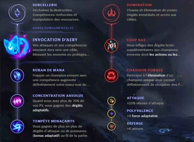 Guide LoL Teemo Mid S10 Runes