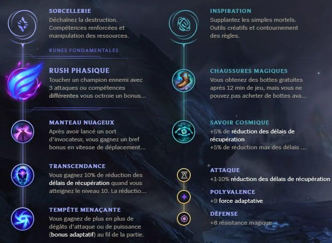 Guide LoL Vladimir Mid S10 Runes