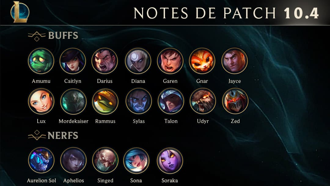 lol-notes-patch-10-4-resume-buff-nerf-up