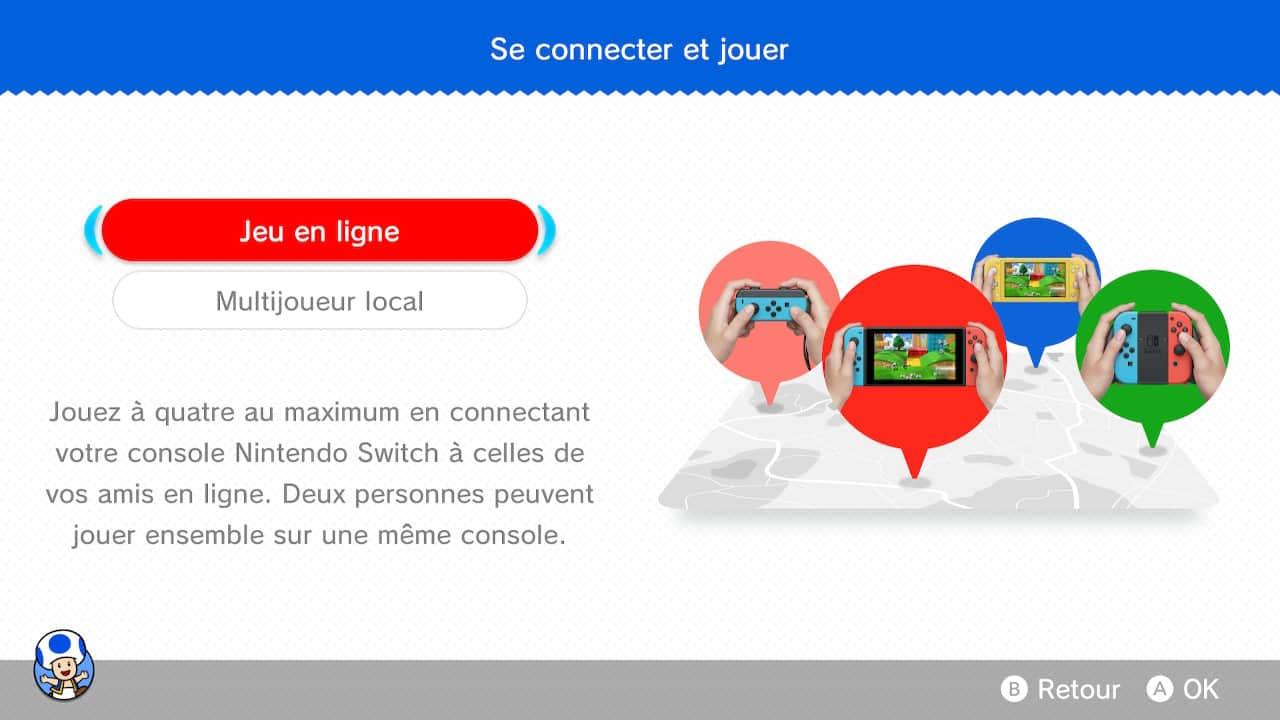 Comment jouer en ligne dans Super Mario 3D World + Bowser's Fury ?