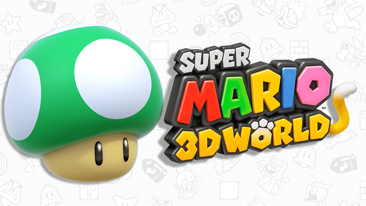 Super Mario 3D World - Vies illimités, 1-UP infini