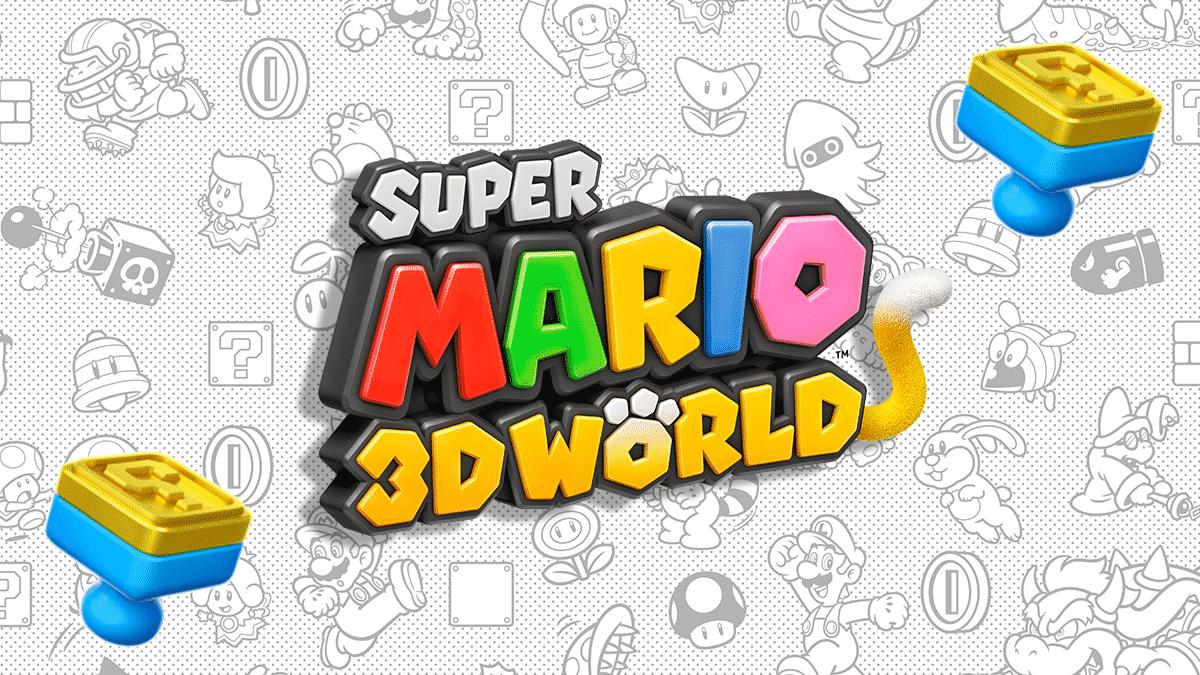 Super Mario 3D World - Débloquer les 5 tampons secrets