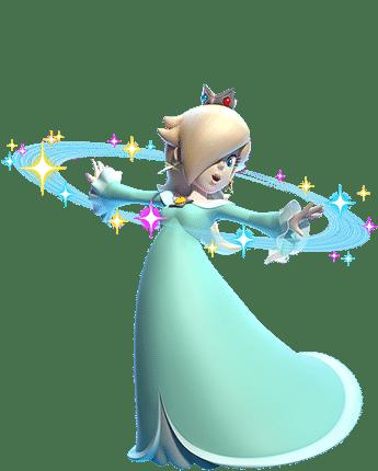 Harmonie / Rosalina dans Super Mario 3D World