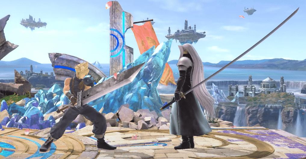 Séphiroth dans Super Smash Bros Ultimate
