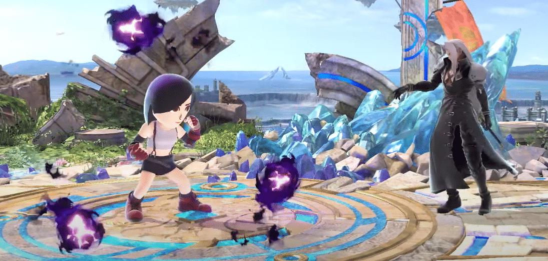 Séphiroth dans Smash Bros - Side B