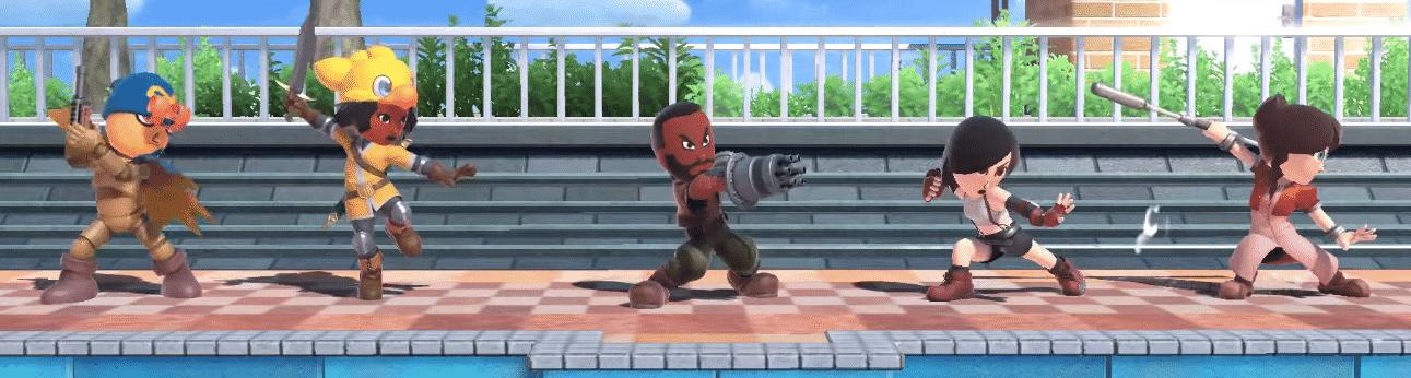 Super Smash Bros Ultimate - Nouveaux costumes pour combattants Mii