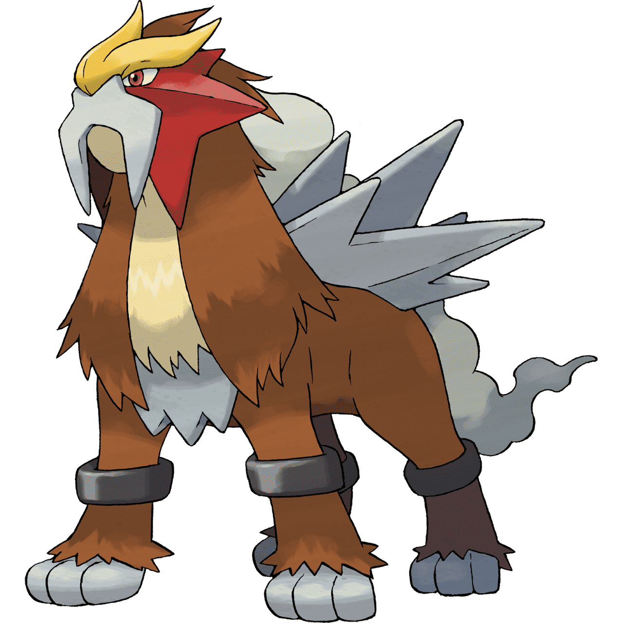 Pokémon Artwork Entei