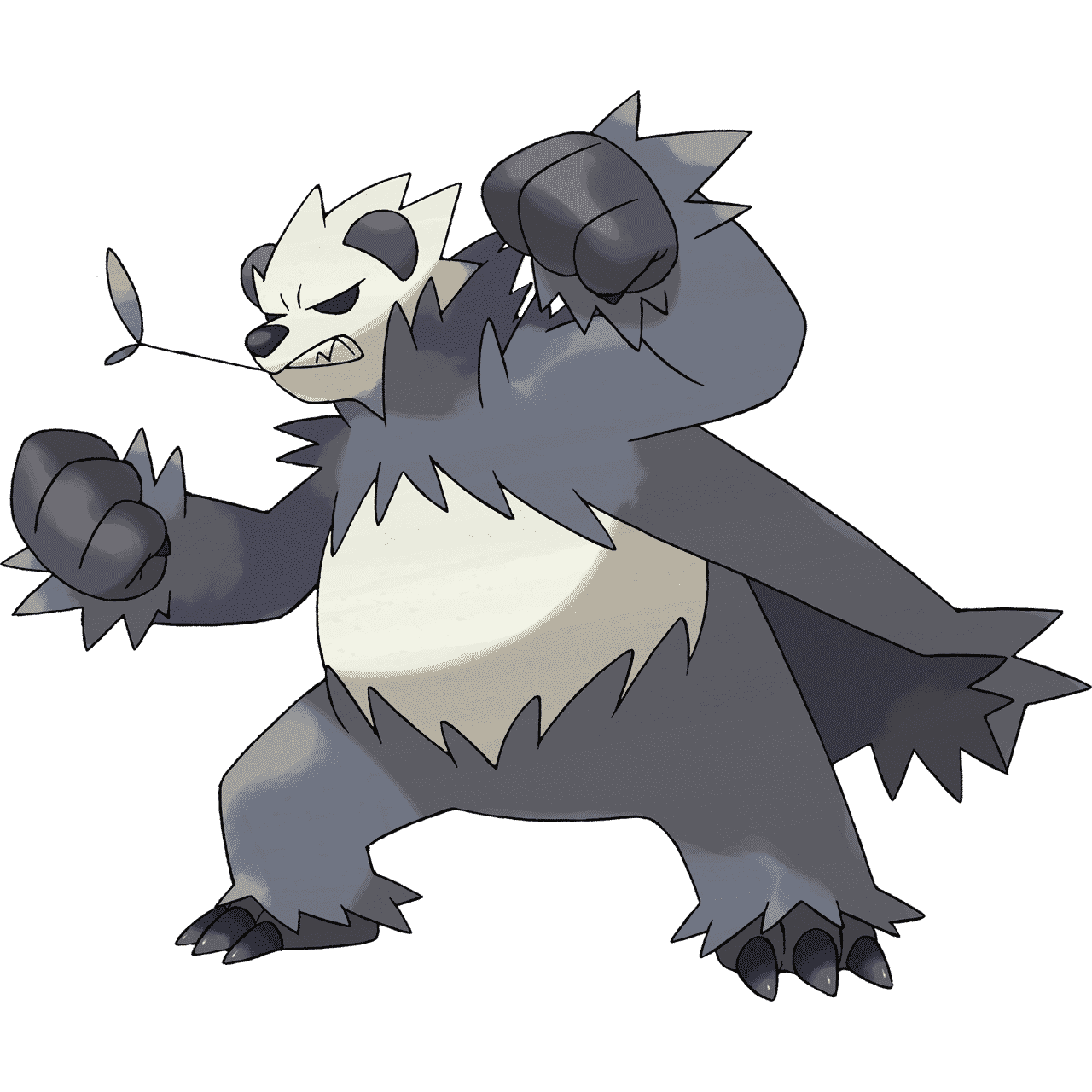 Pokémon Artwork Pandarbare