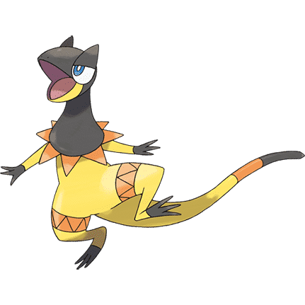 Pokémon Artwork Iguolta
