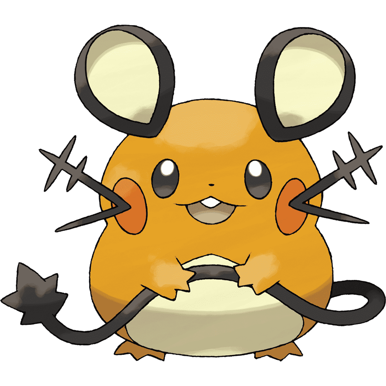 Pokémon Artwork Dedenne