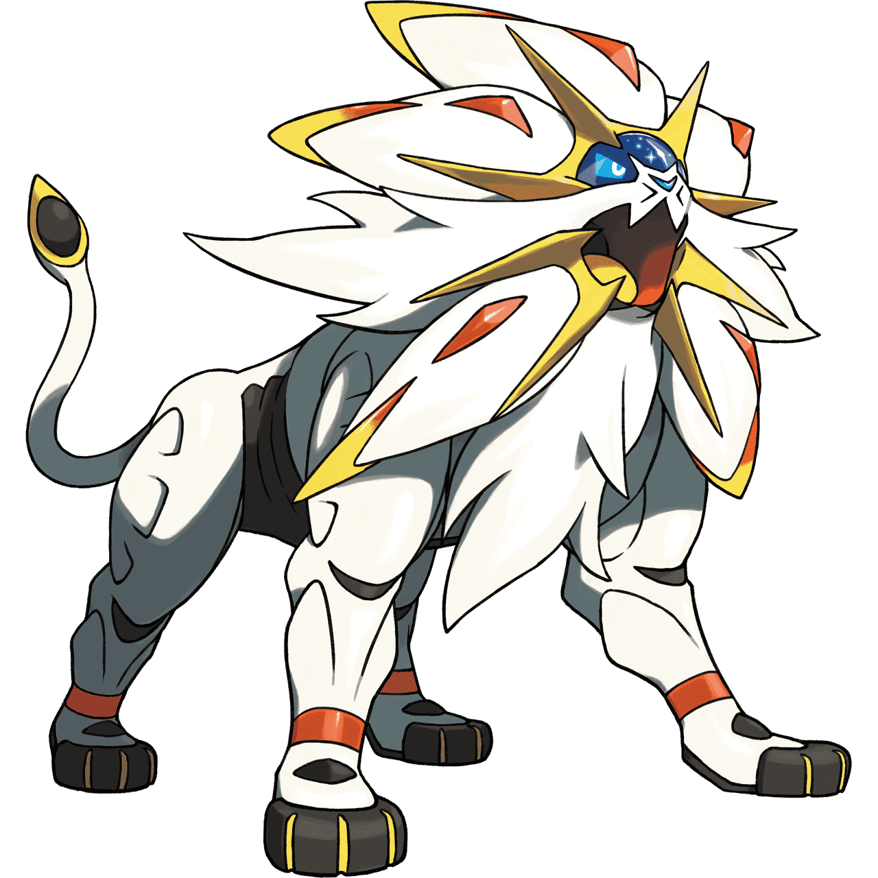 Pokémon Artwork Solgaleo