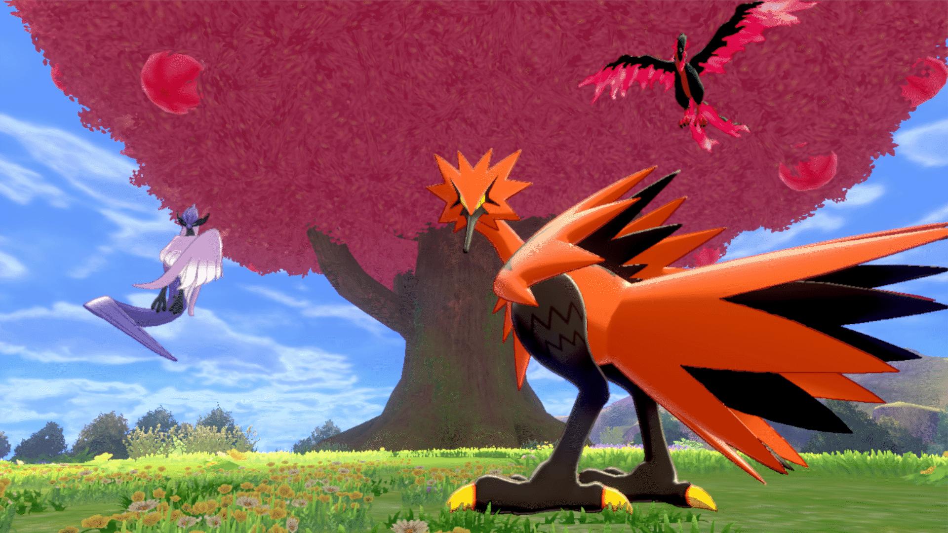 pokemon-epee-bouclier-terres-enneigees-de-la-couronne-quete-oiseaux-legendaires-arbre-poke-ball