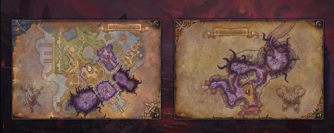 world-of-warcraft-cartes-visions-horrifiques-nouveaute-patch-8-3-wow-visions-de-nzoth-infos-details