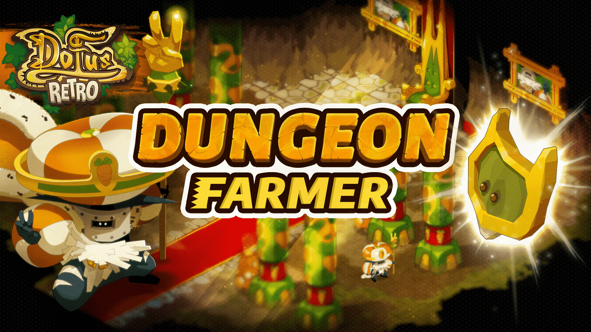 Dofus Rétro : Dungeon Rusher-Farmer Wa Wabbit