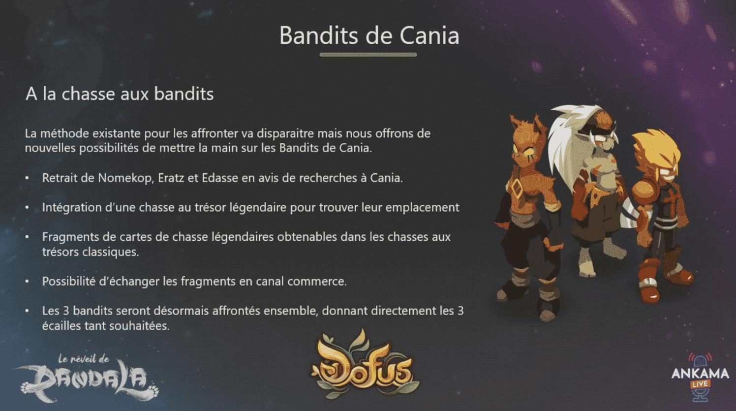 Dofus 2.58 - Bandits de Cania