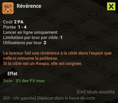 Dofus - Révérence