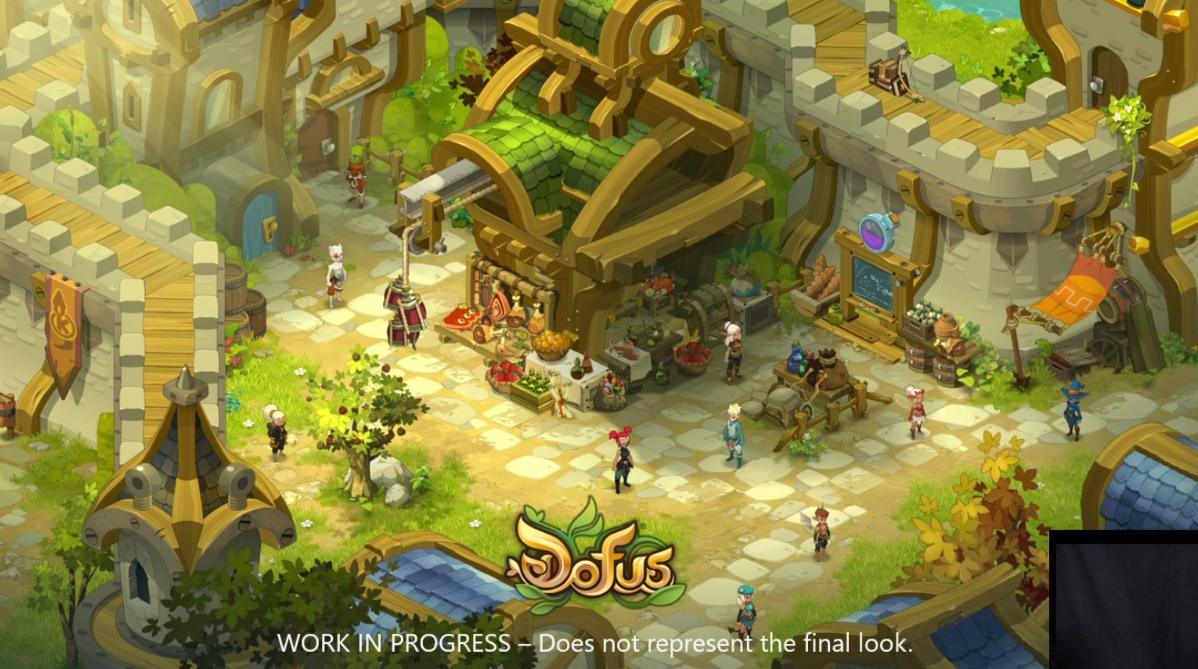Dofus 2 Unity - Astrub et personnages