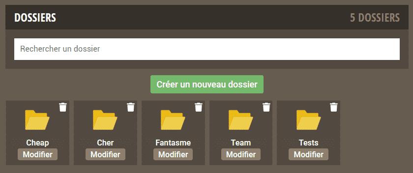 Dofusbook - Dossiers