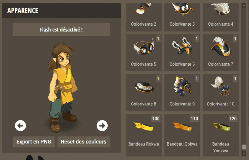 Dofusbook - Skinator