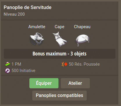 Dofus - Panoplies sur Dofusbook