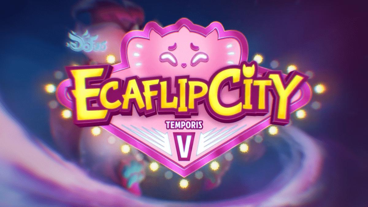 DOFUS - Trailer Temporis 5, Ecaflip City et serveurs temporaires