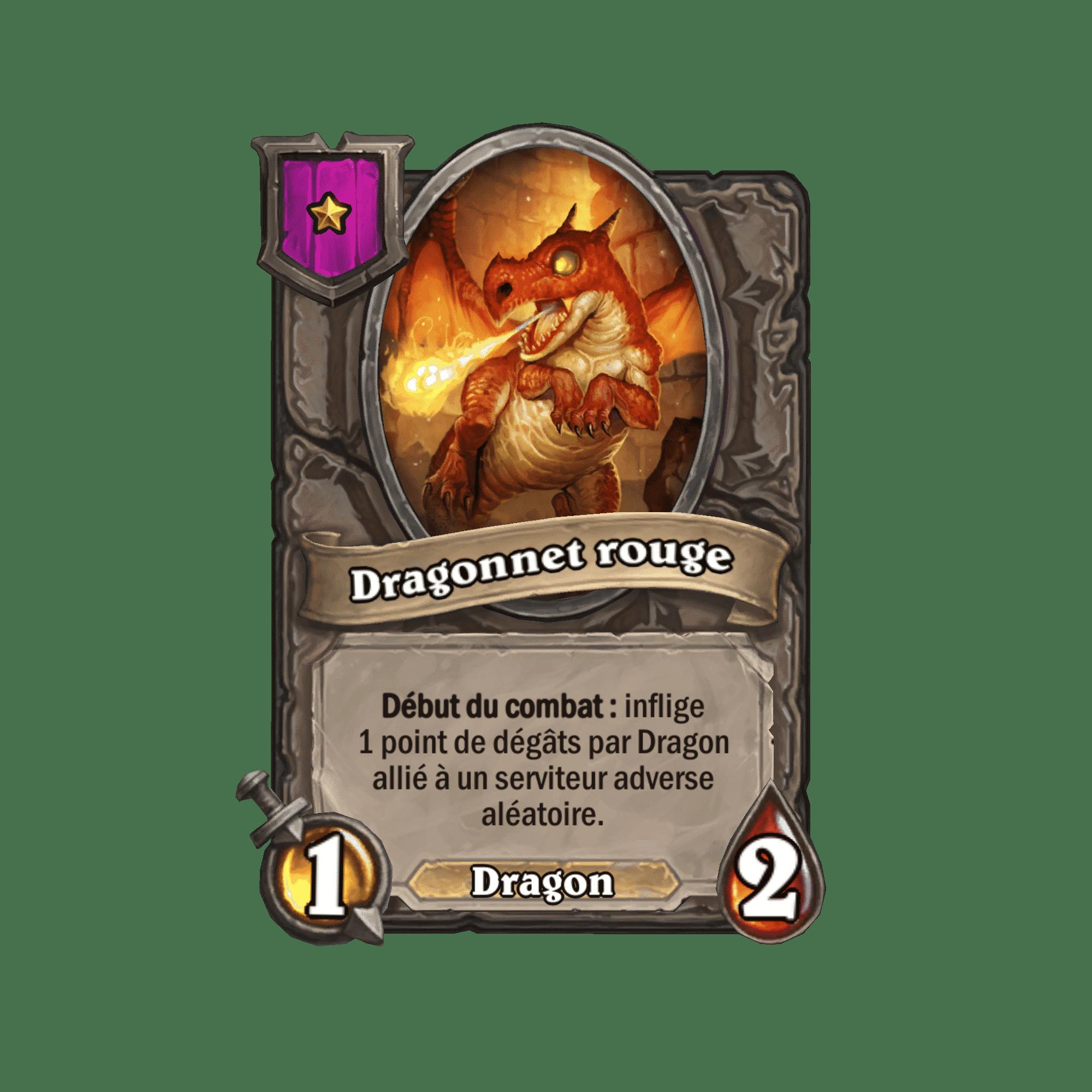 dragonnet-rouge