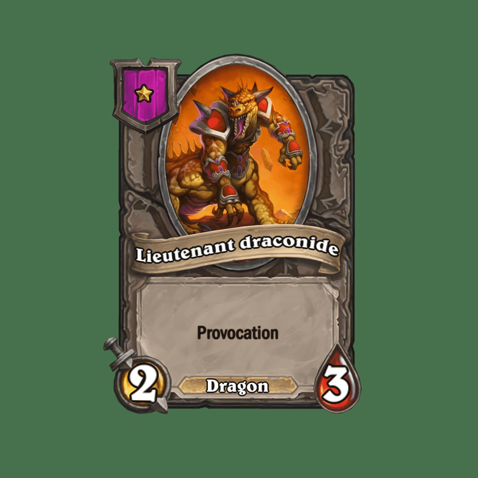 lieutenant-draconide
