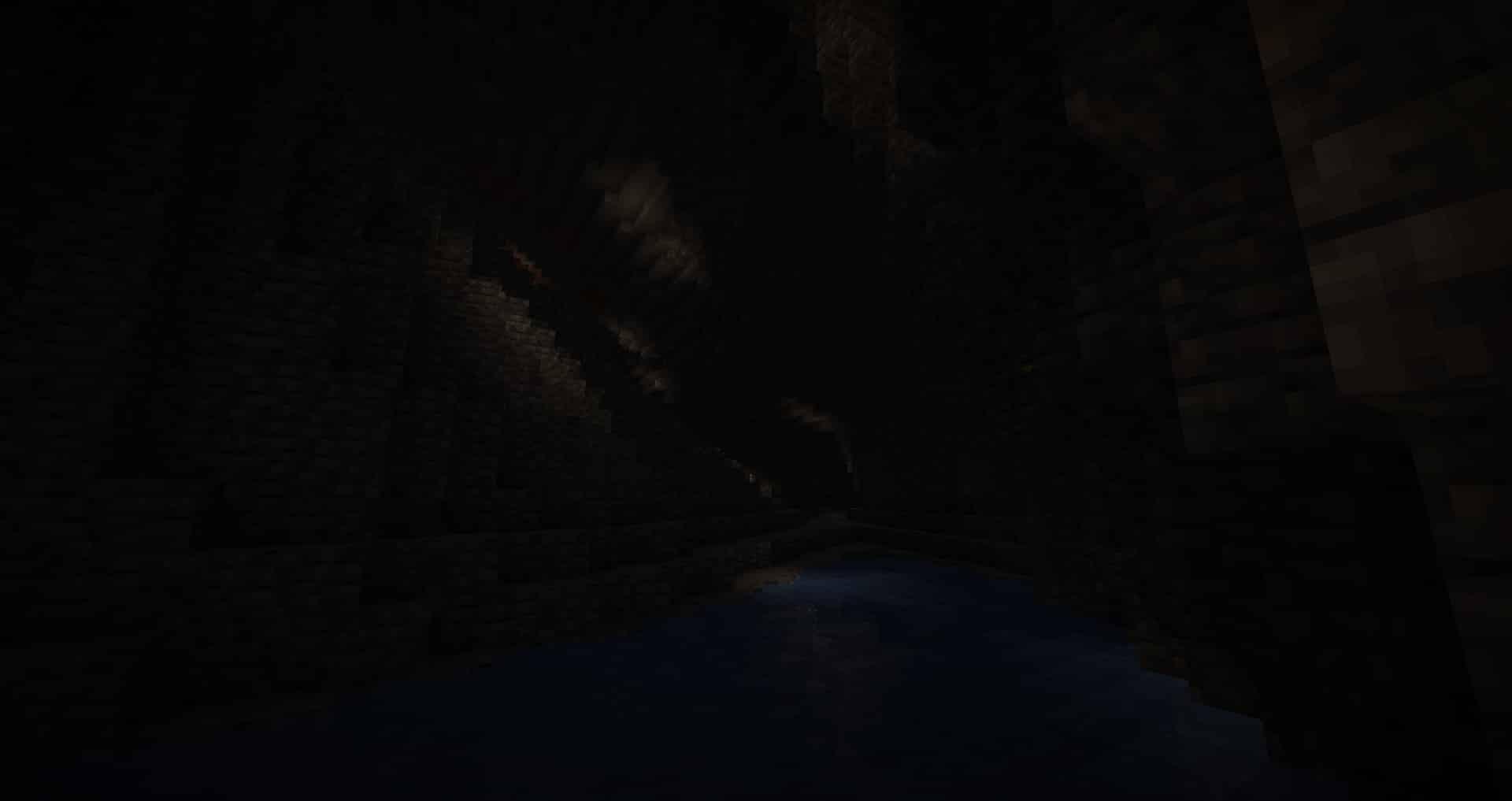 Minecraft 1.17 - Lichen dans une caverne