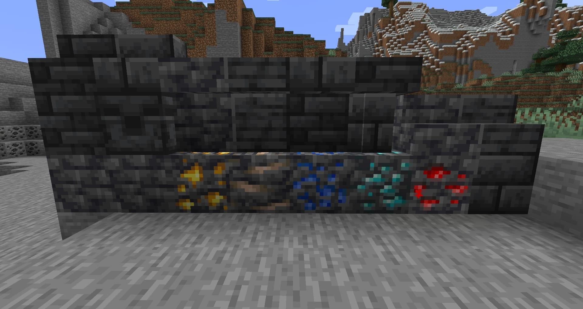 Minecraft 1.17 - DeepSlate