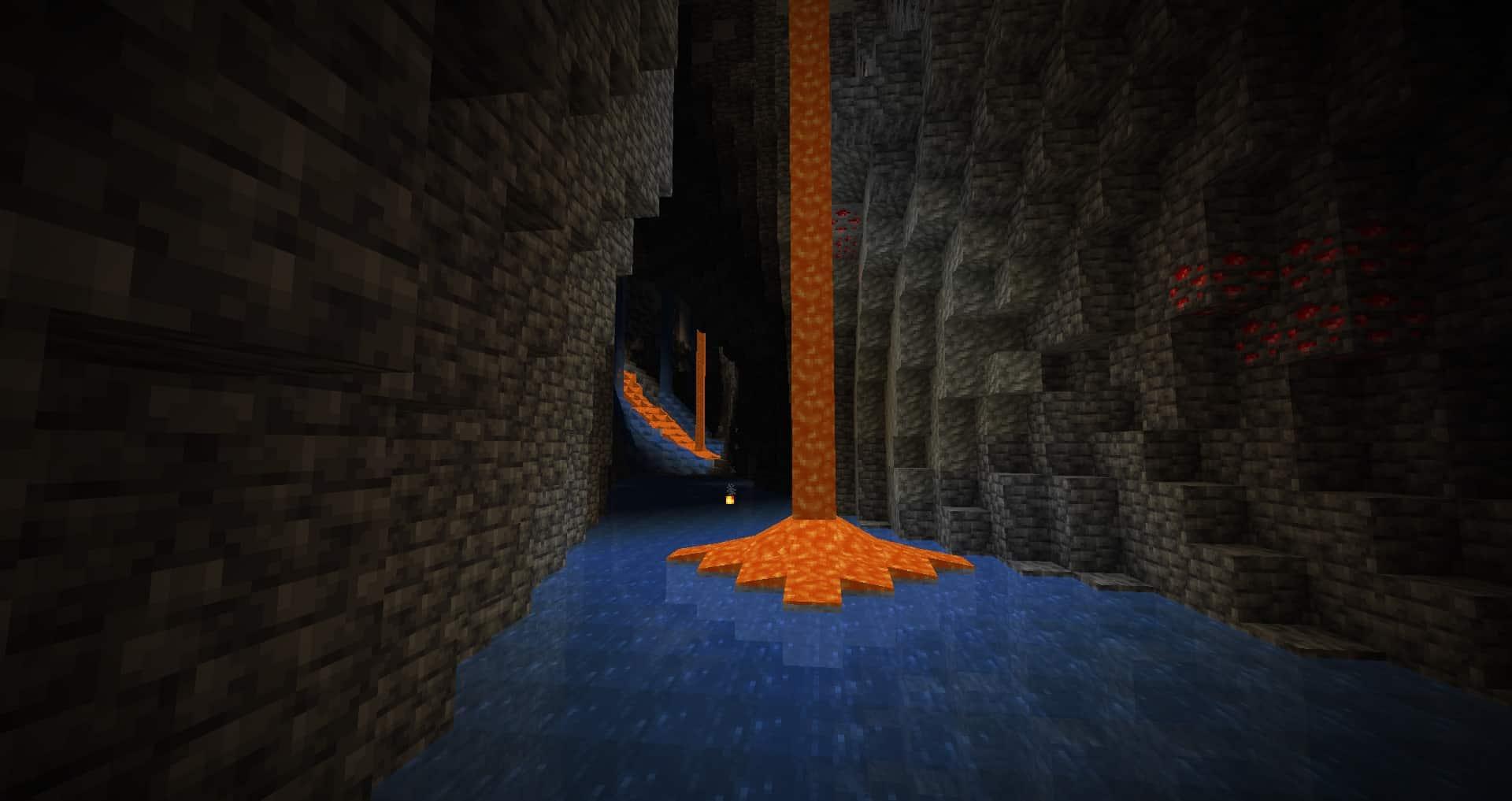 Minecraft 1.17 - Nouvelles caves