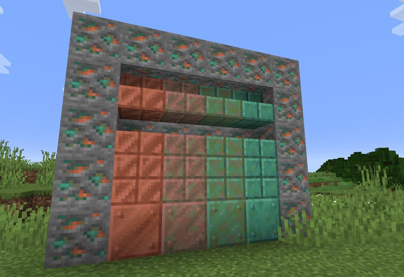 Minecraft 1.17 - Cuivre