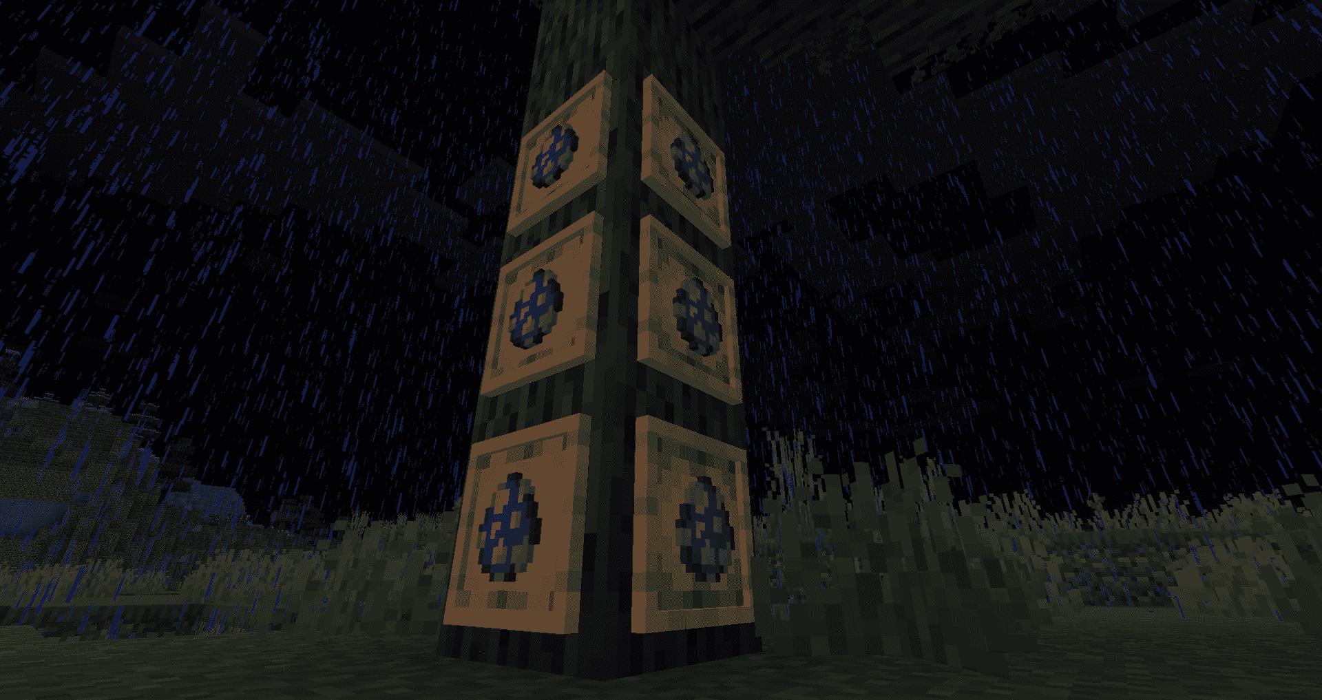 Minecraft 1.17 - Cadre à item luisant