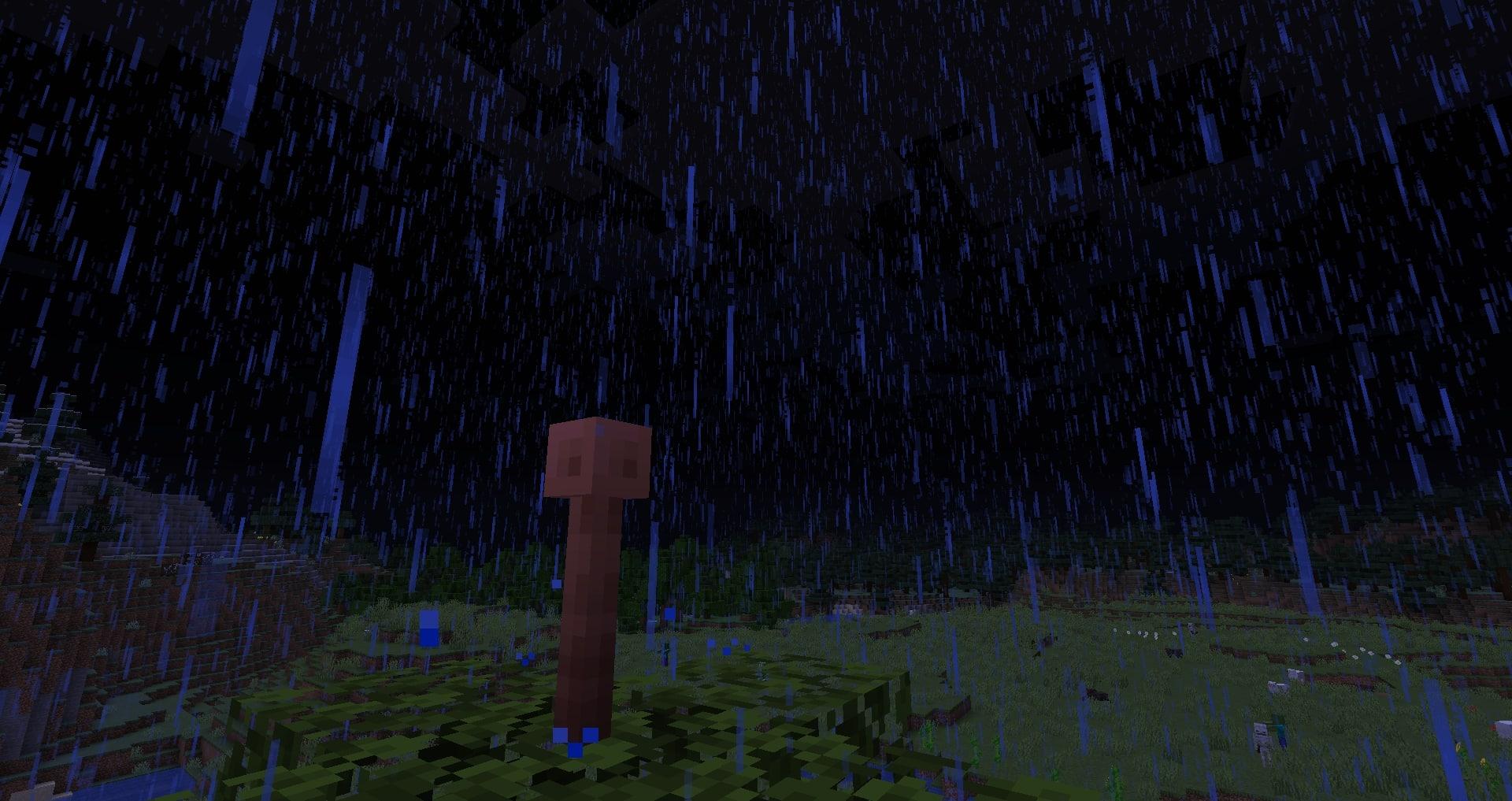 Minecraft 1.17 - Paratonnerre