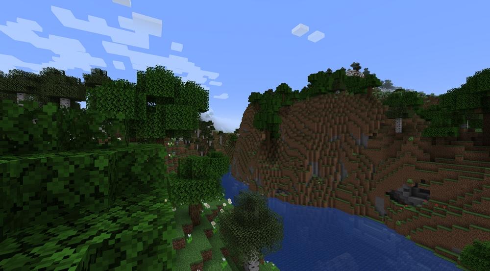 Minecraft 1.18 mise à jour des cavernes mines caves montagnes patch snapshot experimentale