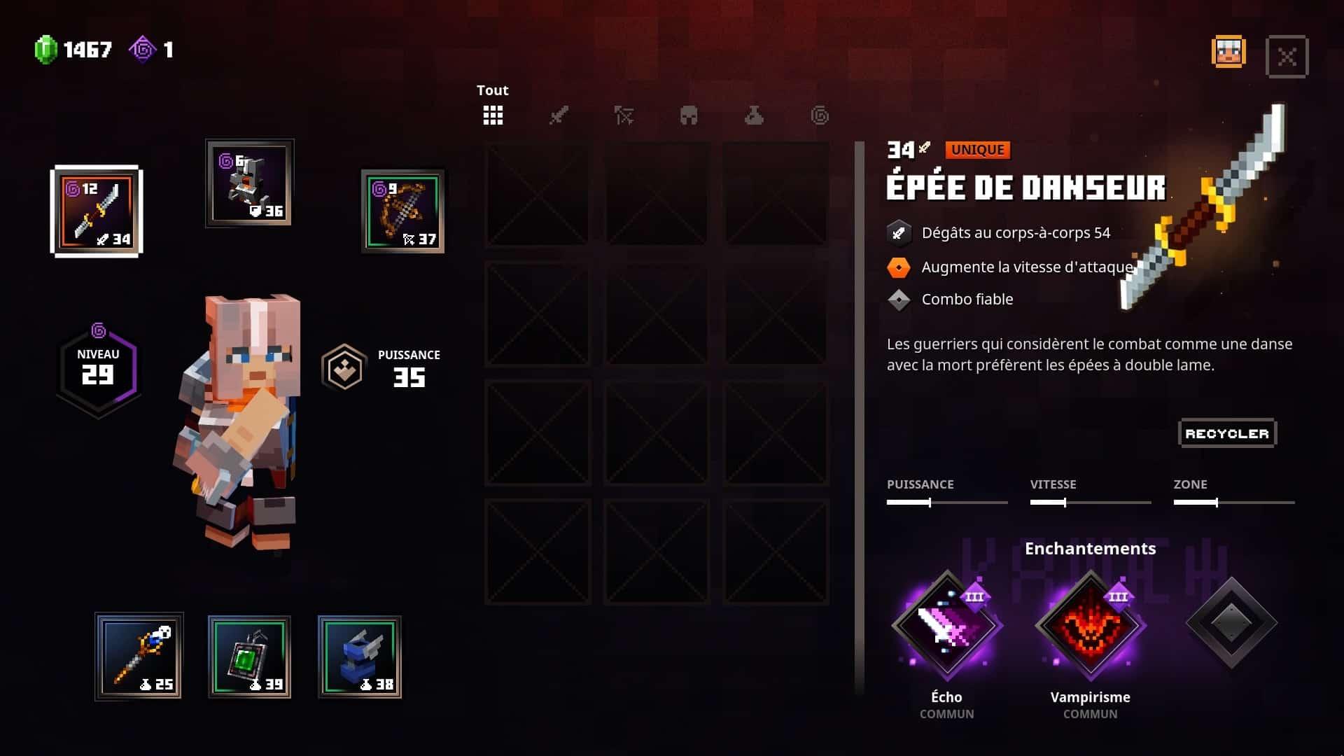 minecraft-dungeons-inventaire-equipement-enchantement